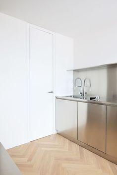 Inox / stainless steel kitchen