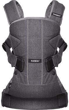 Baby Bjorn - Baby Carrier One - Dark Grey - Compact carrier for little ones