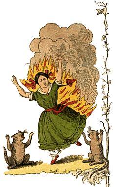 Pauline  Die gar traurige Geschichte mit dem Feuerzeug