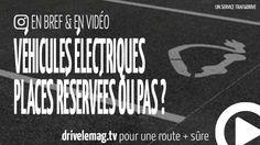 #VIDÉOBRÈVE #Stationnement des #véhiculesélectriques : réservés ou pas ?: Elles se développent de plus en plus en… pour + d'infos/vidéo