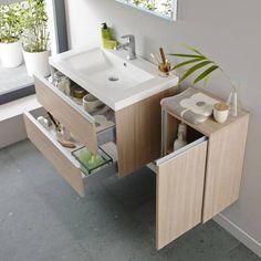 hudson reed ensemble meuble sous lavabo 800x480x550mm armoire de salle de bains riviera - Ensemble Vanite Armoire