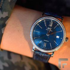 27e177dceb  IWC Portofino Automatic 37A melhor combinação entre o aço e o diamante.  Frattina