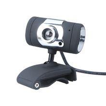 Black USB 2.0 50.0M HD Webcam Camera Web Cam Digital Video Webcamera with Microphone MIC for Computer PC Laptop(China (Mainland))
