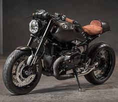 BMW R nineT customisée par BMW Moto Ride Toulouse. Laurent Barranco