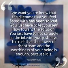 Click the Pin for Awesome Topics on Law Of Attraction Your dilemma has been solved. Just trust and now your worthiness.