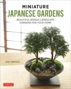 Bring the tranquility of a classic Japanese garden into any space in your home or office. Miniature Japanese Gardens shows you how to create simple Japanese-style container gardens using inexpensive plants and materials that are available everywhere!