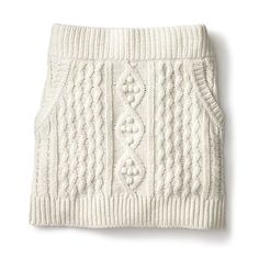 Kinit Skirt inspiration. Remember to do pockets. Fancy - Cable Knit Skirt | Skirts | Women | Joe Fresh