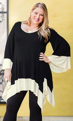 Marlo Tunic/ MiB Plus Size Fashion for Women