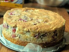 Rhabarber-Mandelbaiser-Kuchen - Rezept - Bild Nr. 9