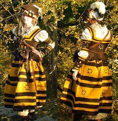 Landsknecht! I'm not really into the style, but this looks fantastic. Sömnad och hantverk: maj 2012