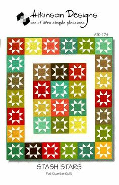 Everyone can sew perfect stars - even beginners. We're sharing our secret! Because the points are floating and the blocks are trimmed after sewing - these stars add up to a perfectly pieced quilt. And we all know that one great project leads to another . . Sm Lap, Lg. Lap, Twin, Full, Queen.