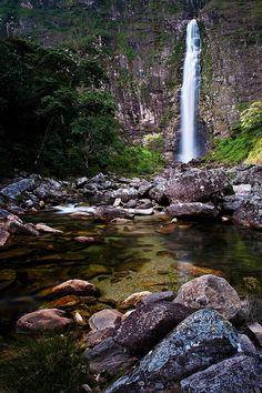 Casca D'Anta, Parque Nacional Serra da Canastra, Sao Jose do Barreiro, MG, Brazil