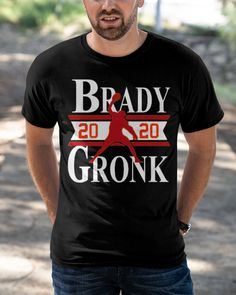 Buccaneers Shirt Tampa Bay-Brady Gronkowski 20 shirts, apparel, posters are available at TeeChip. Tampa Bay, Cool Designs, Trends, Mens Tops, T Shirt, Supreme T Shirt, Tee Shirt, Tee, Beauty Trends
