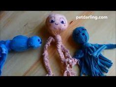 JUGUETE para PERROS y GATOS con calcetines (≧◡≦) DIY fácil! ♥ - YouTube