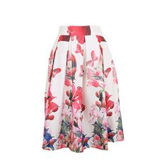 Find More Skirts Information about New 2014 Autumn&Winter Vintage Chinese Style Peacock Floral Print Pleated Midi Skater Skirt Saia For Women Girl148019,High Quality Skirts from CHIC-ING  on Aliexpress.com