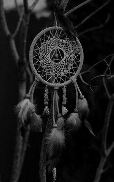 Black & White Dreamcatcher