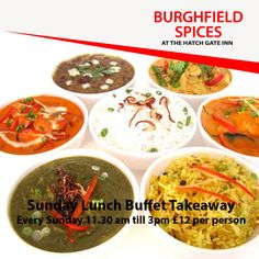 Burghfield Spices is an Indian Restaurant and Takeaway in Burghfield RG30. Located in the heart of Reading, Burghfield Spices offers fresh Indian food and fast service for delivery & collection. Order takeaway food and book a table online from Burghfield Spices through ChefOnline in just a few clicks. Just browse the menu, Pick your favourite food items and proceed to the checkout. Pay via cash or card. Order Takeaway, Lunch Buffet, Indian Food Recipes, Ethnic Recipes, Food Items, A Table, Spices, Vegetarian, Favorite Recipes