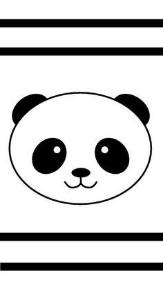 Cute Panda Drawing, Avengers Coloring Pages, Panda Cakes, Panda Party, Panda Wallpapers, 3d Pen, Kung Fu Panda, Painted Pots, Diy Wedding Decorations
