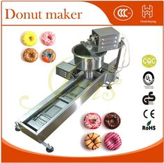 1100.00$  Watch here - DHL Snack machine Automatic commercial waffle baker donuts fastfood  Fries mini Donut maker  #magazineonline