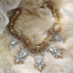 The Cleopatra Necklace... I never knew Cleo was this sparkly but I want it!
