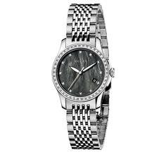 410039d1ebb Gucci G-Timeless Small Stainless Steel   Diamond Bracelet Watch