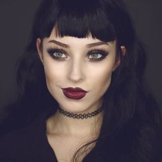 Bold Grunge Look For those true fans of the makeup trends, here . Bold Grunge Look For those true fans of the makeup trends, here . Makeup Trends, Makeup Inspo, Makeup Inspiration, Beauty Makeup, Hair Beauty, Makeup Ideas, Sexy Makeup, Black Lips Makeup, Dark Lipstick Makeup