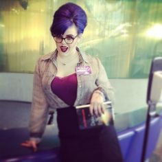 My Welcome to Nightvale librarian cosplay at Midwest Media Expo - 2014