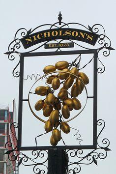 "Nicholson's Hoop & Grapes, London EC3 www.LiquorList.com  ""The Marketplace for Adults with Taste!""  @LiquorListcom  #liquorlist"