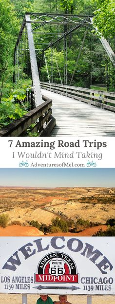 Whether you're dreaming up your next family trip or just figuring out where you want to go, these 7 road trips will definitely have you feeling like you've been bitten by the travel bug. Get out and explore!