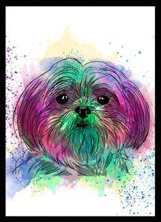 Shih-tzu - Dog in Art