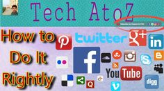 How to add Social Media Links on YouTube Channel Art