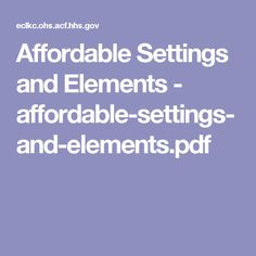 Affordable Settings and Elements - affordable-settings-and-elements.pdf