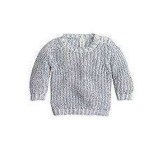 Baby shoulder-button sweater