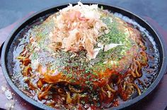 Okonomiyaki Hiroshima: Really want to try making this, but not sure if I should try the Hiroshima style or Kansai style, both look great!