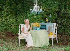 Turquoise Easter Wedding Inspiration ||| Photographer: pure7studios / Event Planning and Design: Shelby Peaden Events  ||| featured on ruffled blog