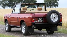 1973 Range Rover Convertible (Credit: Credit: Silverstone Auctions)