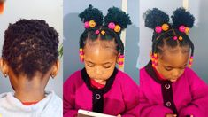 She Wanted Me to do This INSTAGRAM style on her Very short Hair.... Total Transformation - YouTube Baddie Hairstyles, Modern Hairstyles, Girl Hairstyles, Braided Hairstyles, Short Hair For Kids, Very Short Hair, Hair Kids, 4c Natural Hair, Natural Hair Styles