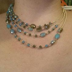 Belize necklace shortened. #premierdesigns