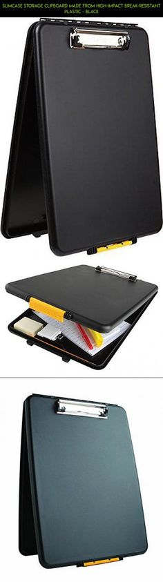 Slimcase Storage Clipboard Made from High-impact Break-resistant Plastic - Black #products #gadgets #storage #shopping #camera #tech #fpv #technology #plans #drone #racing #parts #clipboard #kit