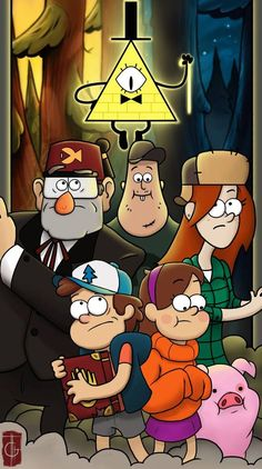 Gravity Falls Dipper, Gravity Falls Poster, Gravity Falls Comics, Gravity Falls Bill, Iphone Wallpaper Fall, Cartoon Wallpaper Iphone, Cute Disney Wallpaper, Wallpaper Art, Wallpaper Awesome