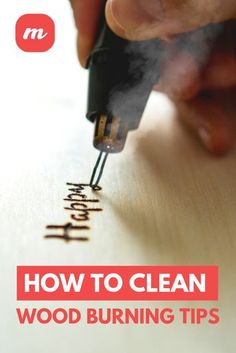 Not only will doing this properly this allow your wood burning tips to last longer, but it will result in an end product that is of higher quality, and isn't a great end result the ultimate goal with this craft? burning How To Clean Wood Burning Tips Wood Burning Tips, Wood Burning Techniques, Wood Burning Crafts, Wood Burning Patterns, Wood Burning Projects, Wood Burning Stencils, Stencil Wood, Wood Burn Designs, Pyrography Patterns