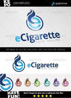 eCigarette Logo Templates