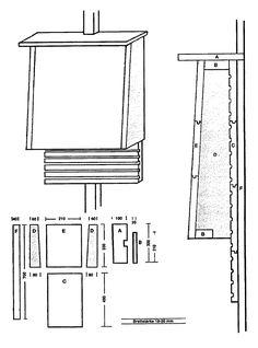 Nistkasten bauanleitung nistk sten bauen pinterest for Bat box obi