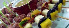 Copie a Receita de Espeto agridoce da blogueira na cozinha - Receitas Supreme
