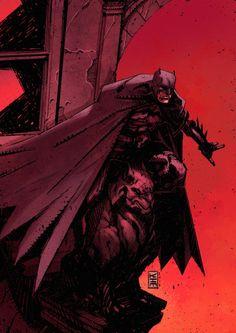 westcoastavengers:  Batman by Kim Jacinto