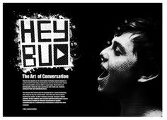 #The Conversation Double Page Spread by Luke Rogers, via Behance