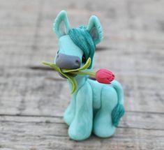 Teal Sugar - tiny donkey 2018
