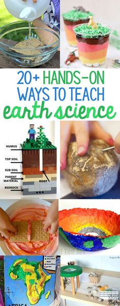 Bring science to life with these low-cost, easy experiments! Here are hands-on ways to teach earth science including landforms, rocks, minerals, and more!