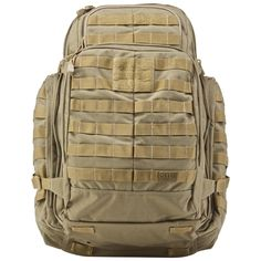 5.11 rush 72 tactical pack. I would love this as a new bushcrafting pack.