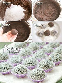 Çikolatalı İrmik Topları Tarifi. Chocolate Balls Recipe for Grits